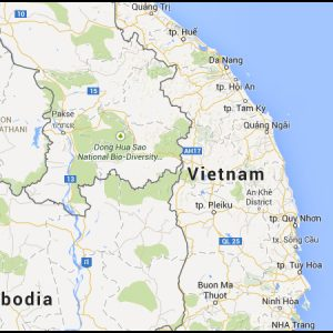 briquetting plant vietnam map