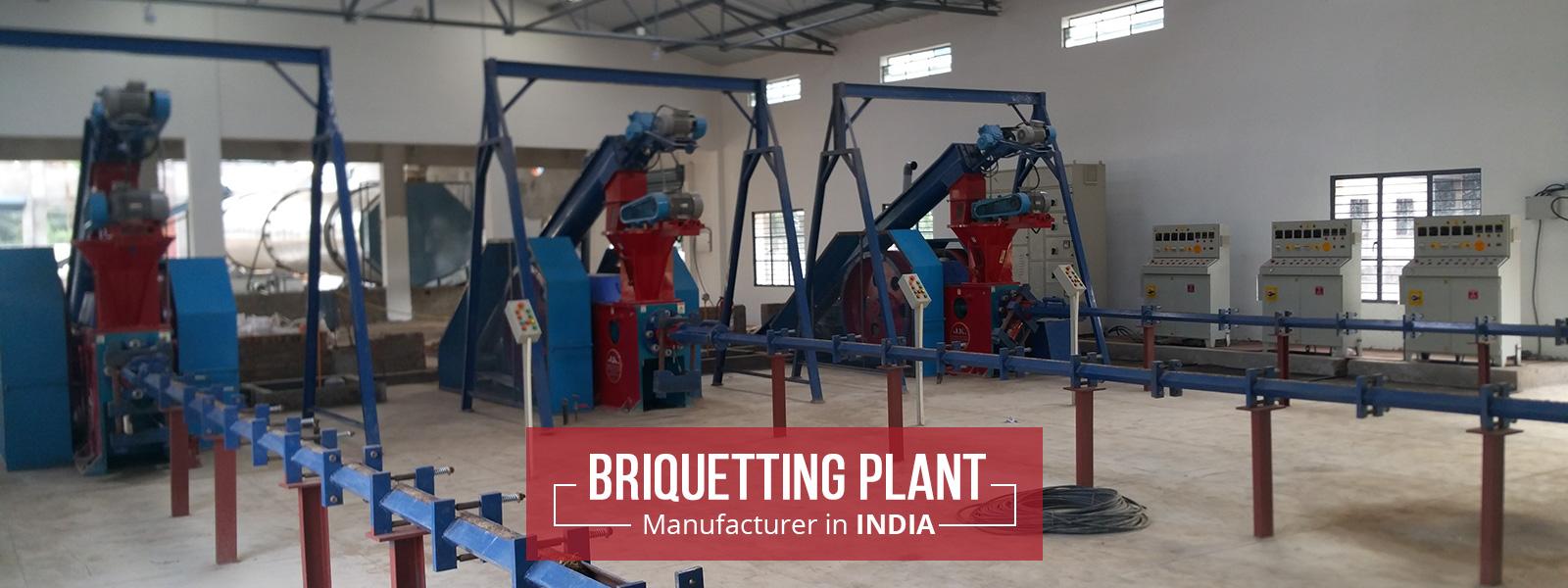 briquetting-plant manufacturer in india