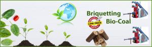 Bio Coal Fuel Machine