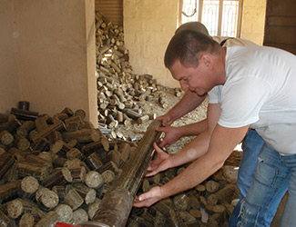 Briquette Production Process