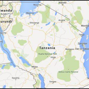 briquetting plant tanzania map