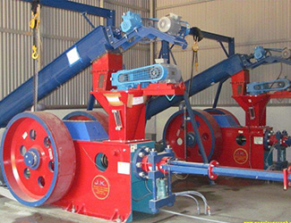 briquetting press in india