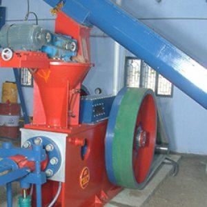briquetting rotary air lock machine