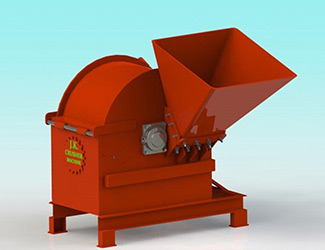 briquetting shredder machine