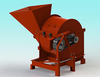 crusher cum shredder plant