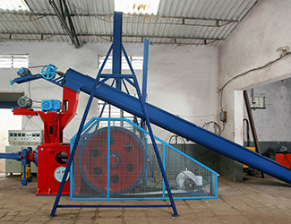 mechanical briquetting plant